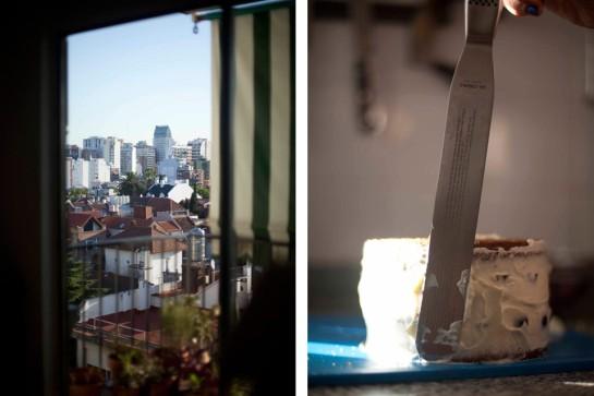 TORTA DE CEREZAS, PHILADELPHIA Y LIMÓN